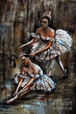 Painting - Ballerina by Nancy Bradley