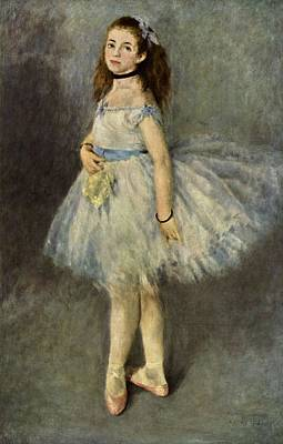 Ballerina Art Print by Pierre Auguste  Renoir