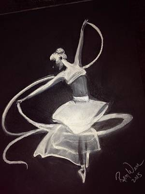 Painting - Ballerina by Renee Michelle Wenker