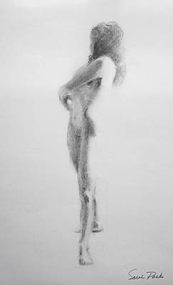 Corporate Art Drawing - Ballerina by Sarah Parks