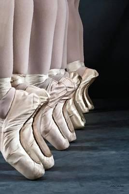 Ballerina Slippers Original by Janos Szijarto