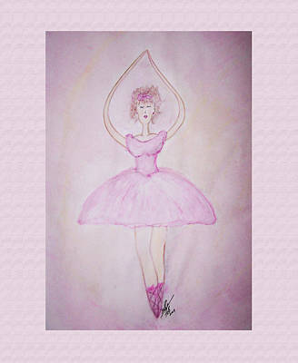 Painting - Ballerina by Susan Turner Soulis