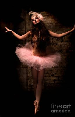 Painting - Ballerina by Thomas Oliver