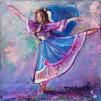 Painting - Ballerina by TM Gand