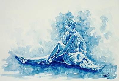 Painting - Ballerina  by Zaira Dzhaubaeva
