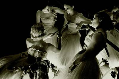 Photograph - Ballerinas In Radio City Music Hall by Remie Lohse