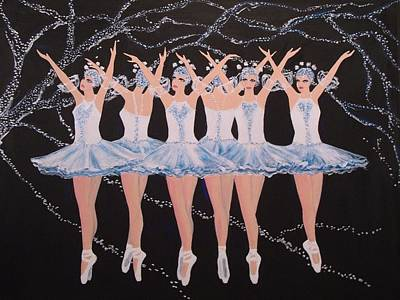 Painting - Ballerinas by Jorge Parellada