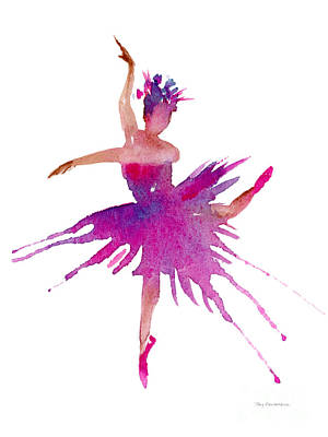 Painting - Ballet Arabesque by Amy Kirkpatrick