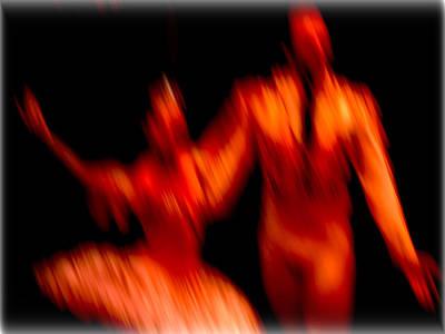 Photograph - Ballet Blur 1 by Paulo Guimaraes