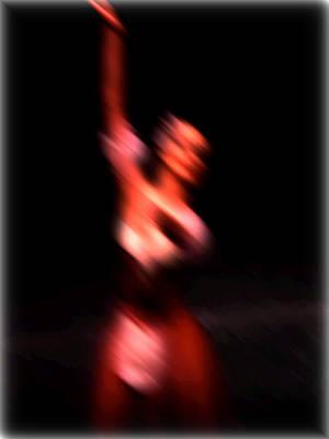 Ballet Blur 4 Art Print