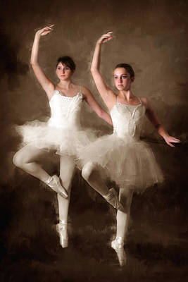 Ballet Class Original by Brian Enright