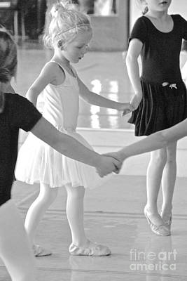 Photograph - Ballet Class I by Suzanne Oesterling