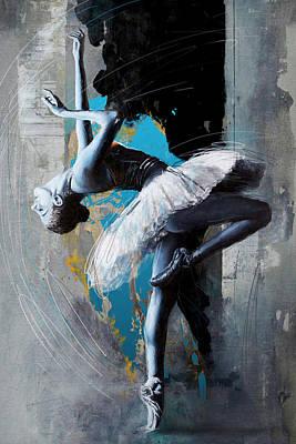 Painting - Ballet Dancer 15 by Mahnoor Shah