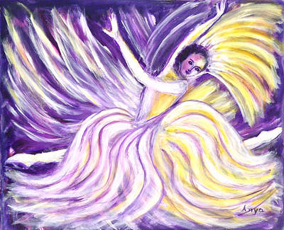 Painting - Ballet Dancer by Anya Heller