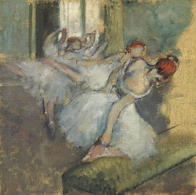 Ballet Painting - Ballet Dancer by Degas