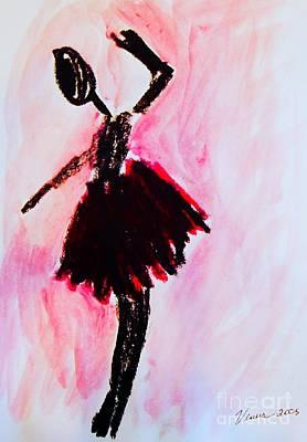 Avant Garde Mixed Media - Ballet Dancer by Venus