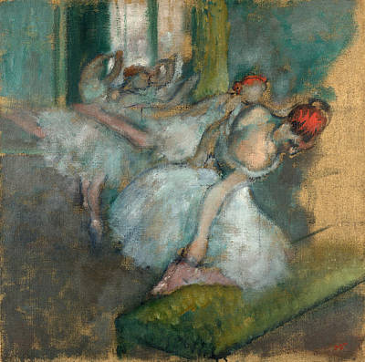 Ballet Dancers Art Print by Edgar Degas