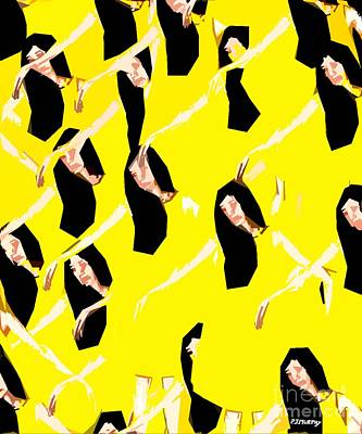 Ballet Dancers Art Print by Patrick J Murphy