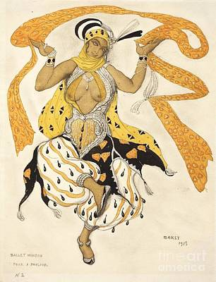 Ballet Painting - Ballet Hindu by Pg Reproductions