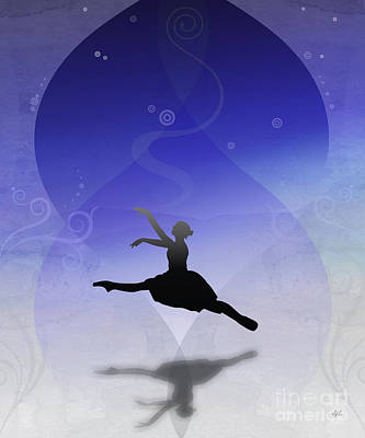 Classic Marine Art Digital Art - Ballet In Solitude  by Peter Awax