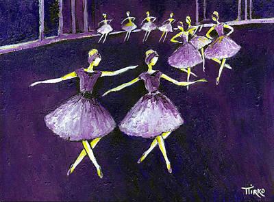 Mirko Painting - Ballet La Ronde by Mirko Gallery