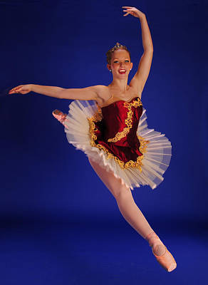 Ballet Leap Original by ARTography by Pamela Smale Williams