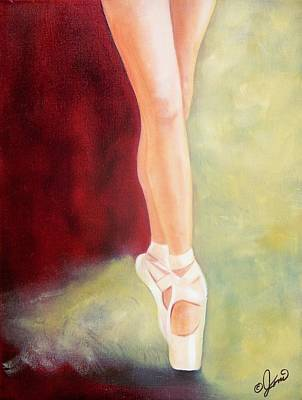 Painting - Ballet Moves by Joni McPherson