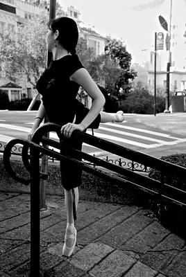 Photograph - Ballet On Lombard Street by Eric Tressler