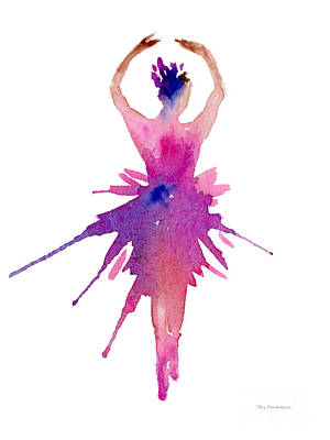 Painting - Ballet Releve by Amy Kirkpatrick