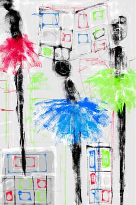 Ballet School Print by Rc Rcd