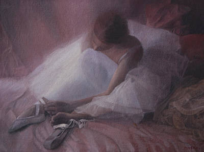 Painting - Ballet Shoes by Masami Iida