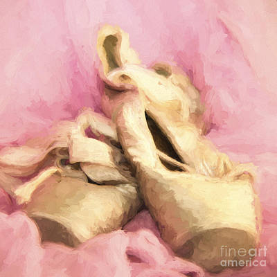 Photograph - Ballet Toe Shoes by Pam  Holdsworth
