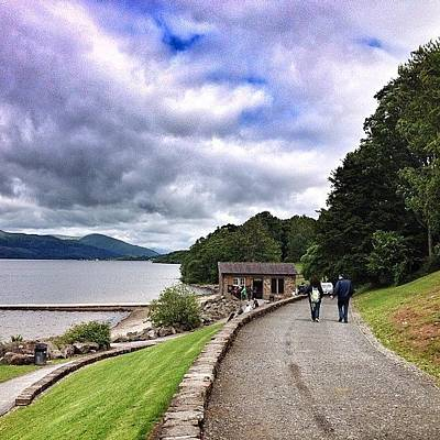 Landscapestyles Photograph - #balloch #lochlomond #scotland by Colin Logie