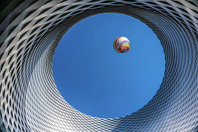 Hot Air Balloon Photograph - Ballon [ O ] by Markus Lissner