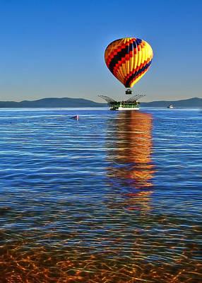 Photograph - Ballon Launcher by Maria Coulson