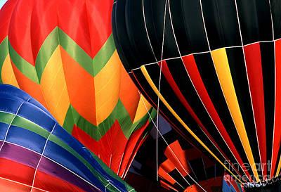 Balloon 4 Art Print by Rich Killion