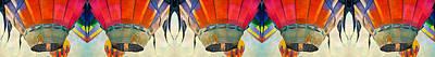 Balloon Digital Art - Balloon Banner by Betsy Knapp