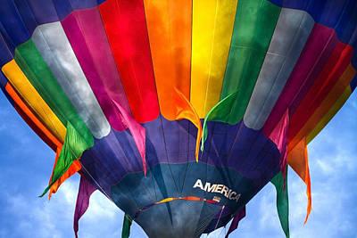Spectrum Photograph - Balloon  by Betsy Knapp