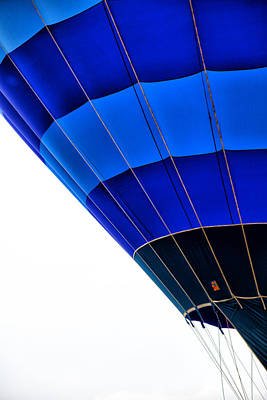 Photograph - Balloon Blue by Karol Livote