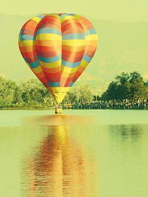 Photograph - Balloon Classic 2 by Michelle Frizzell-Thompson