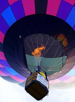 Photograph - Balloon Close Up by Rachel Munoz Striggow
