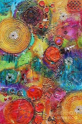 Mixed Media - Balloon Factory by Angela L Walker