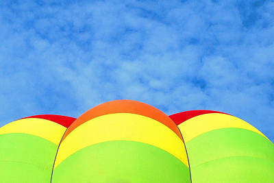 Photograph - Balloon Fantasy 42 by Allen Beatty