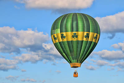 Photograph - Balloon Fantasy 46 by Allen Beatty
