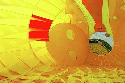 Art Print featuring the photograph Balloon Fantasy 6 by Allen Beatty
