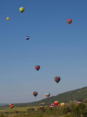Photograph - Balloon Festival by Al Reiner