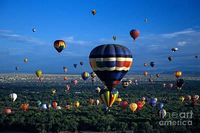 Balloon Festival Art Print by Mark Newman