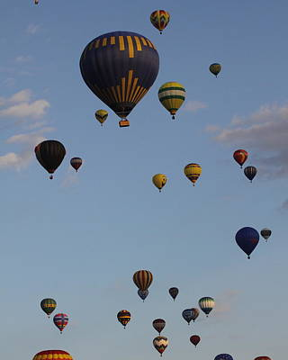 Balloon Festival Art Print