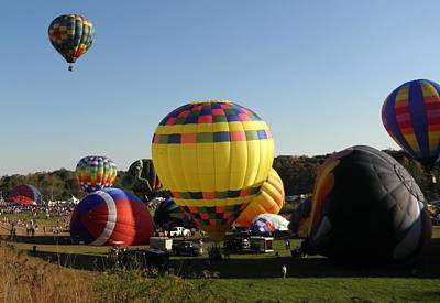 Dennis Miller Wall Art - Photograph - Balloon Festival by Richard Dennis Miller