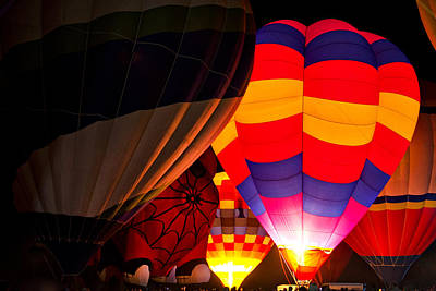 Photograph - Balloon Festival  by Saija  Lehtonen